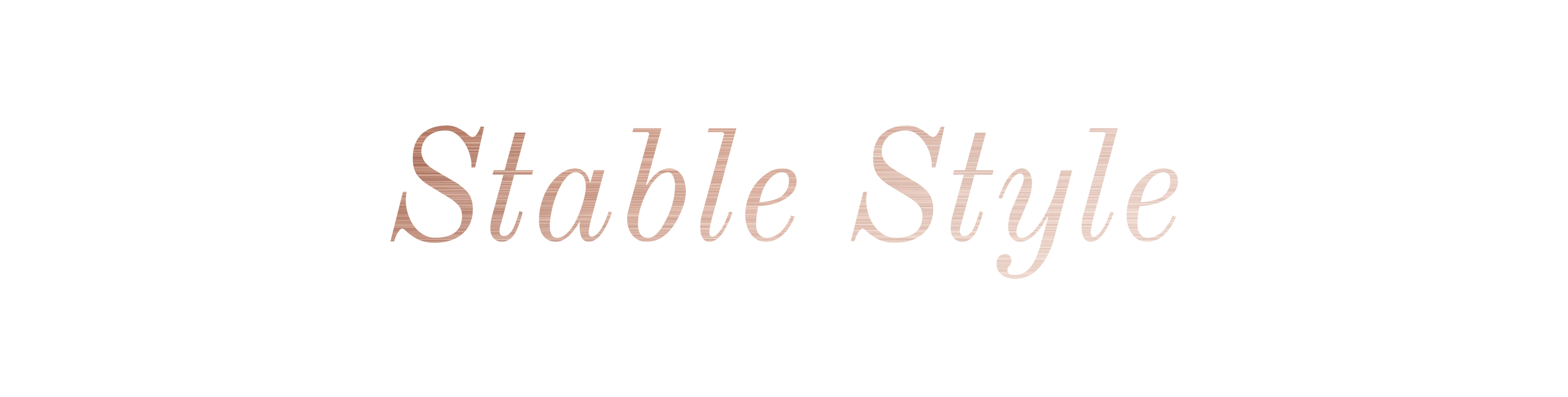 Stable Style Header