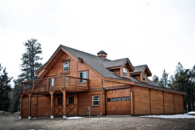 Rustic Colorado Apartment Barn - STABLE STYLE