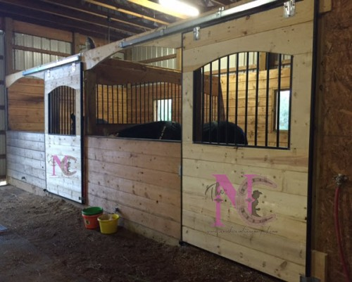 build your own stalls a practical barn diy stable style With build your own horse barn