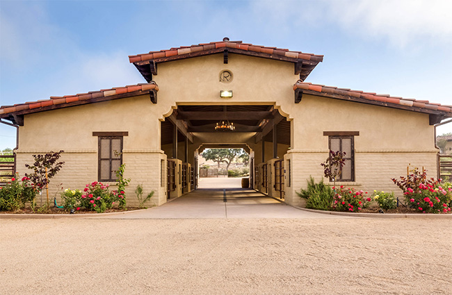 Southwestern Ranch In Santa Ynez Valley Stable Style