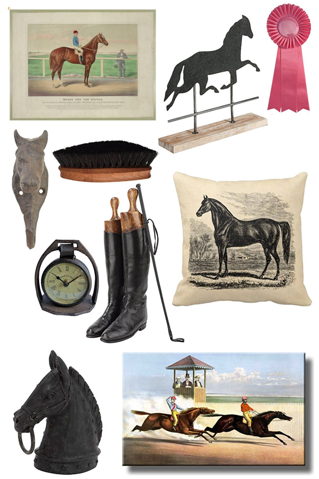 Vintage Inspired Equestrian Accessories For The Home