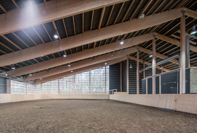 This Equestrian Center In Sweden Is Located On A Former