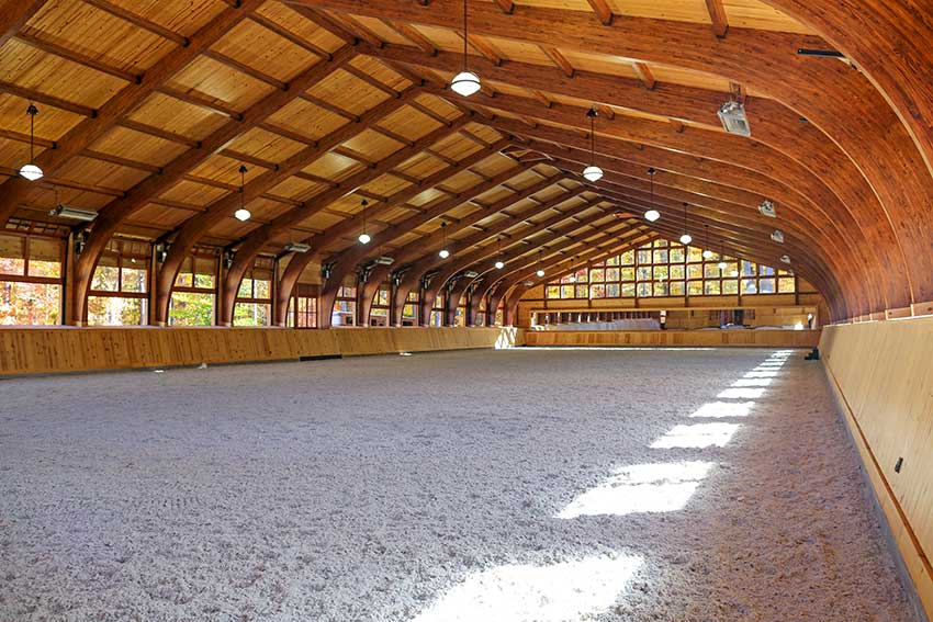 18 Dreamy Riding Arenas Around The World Stable Style