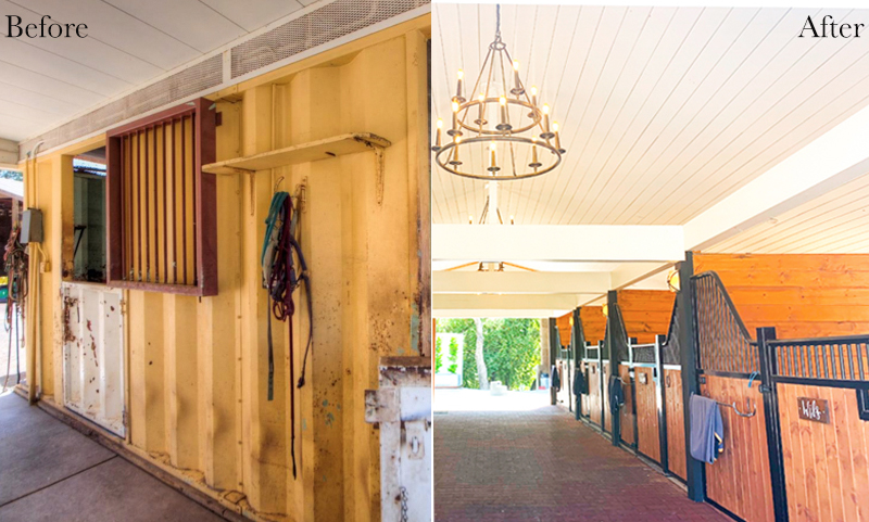 Amazing before and after barn tour on Stable Style